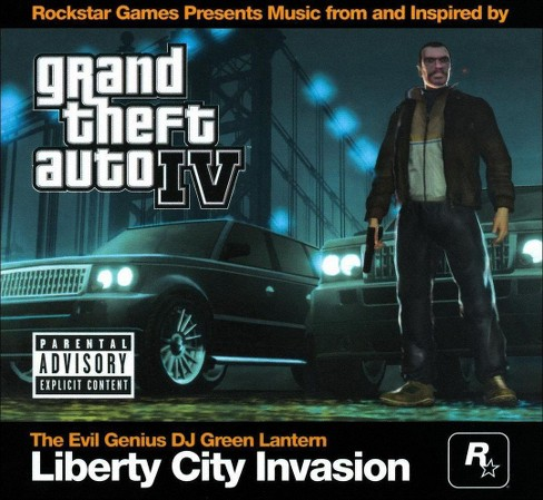 Dj green lantern - Grand theft auto iv (Ost) [Explicit Lyrics] (CD) - image 1 of 1