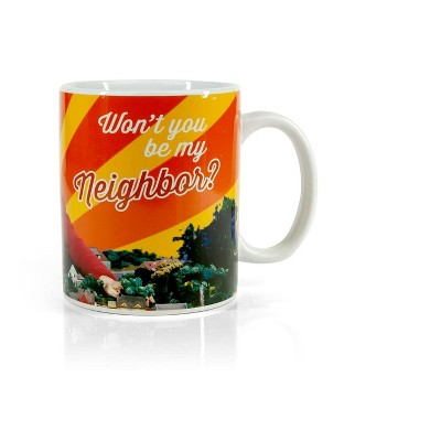 Surreal Entertainment Mister Rogers Neighborhood Mug | Won't You Be My Neighbor | Holds 15 Ounces