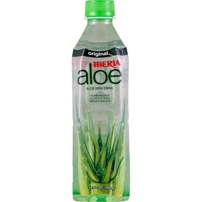 IBERIA aloe Original Aloe Vera Drink - 16.9 fl oz Bottle