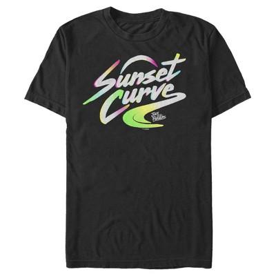 Men's Julie and the Phantoms Sunset Curve Band Logo T-Shirt