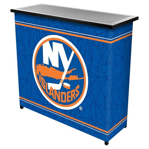 New York Islanders 2 Shelf Portable Bar with Case - image 1 of 1