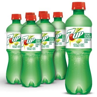 Diet 7UP Soda - 6pk/0.5 L Bottles