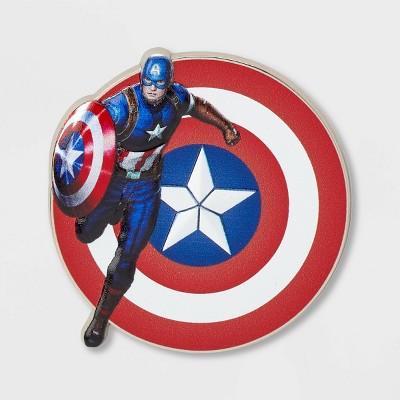 Kids' Marvel Captain America Pin - Disney Store