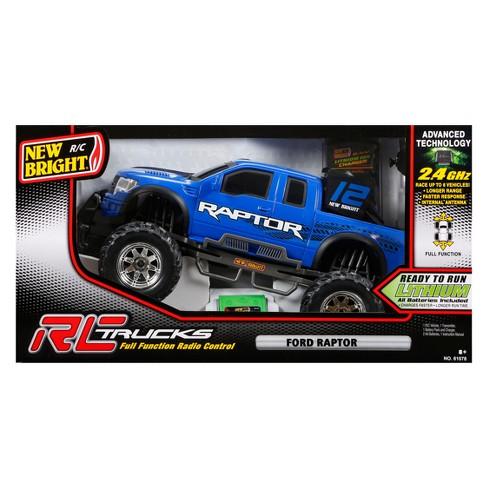 46136b158dbe New Bright Radio Control RC FF 6.4 Vehicle Ford Raptor 1 10 Scale   Target
