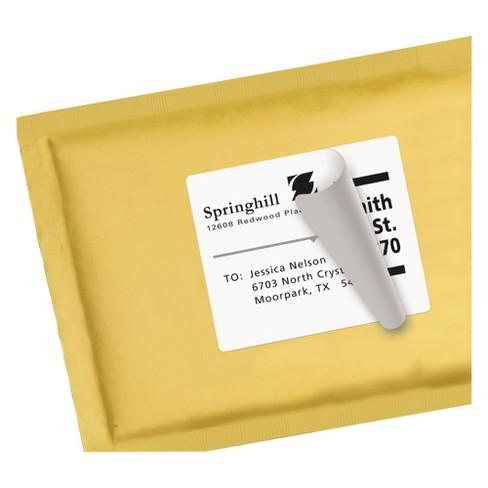 avery 08464 shipping labels w ultrahold ad trueblock inkjet 3
