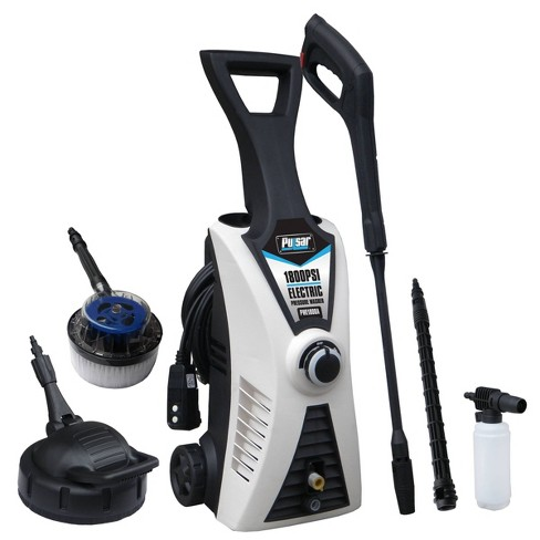 Pulsar Products PWE1801K 1800PSI Electrical Pressure Washer with Kit - image 1 of 4