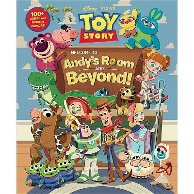 Toy Story Welcome to Andy's Room & Beyond! - (Hardcover)