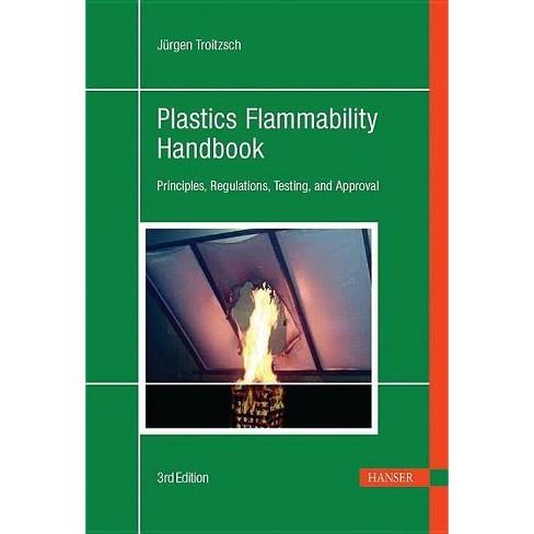 Plastics Flammability Handbook 3e - 3 Edition by  Jurgen Troitzsch (Hardcover) - image 1 of 1