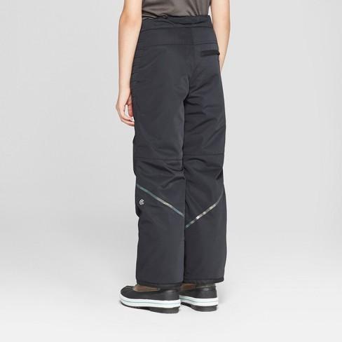 f67396dfaec0 Girls  Snow Pants - C9 Champion® Black   Target