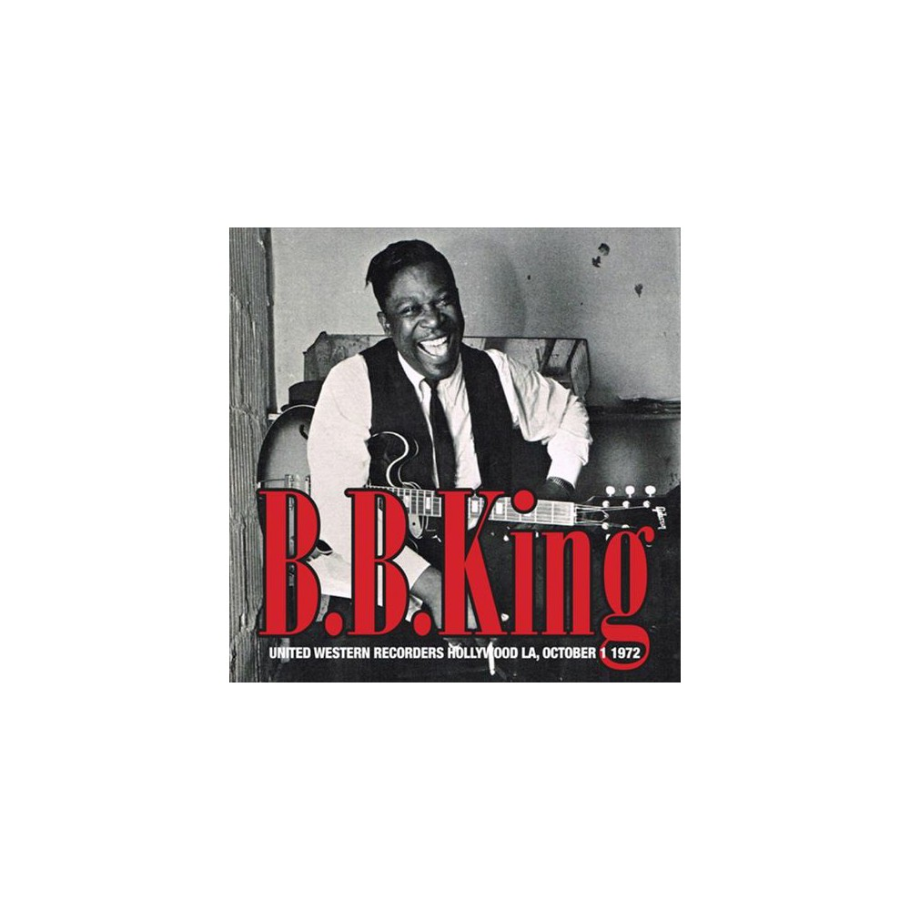 B.B. King - United Western Recorders Hollywood La (Vinyl)