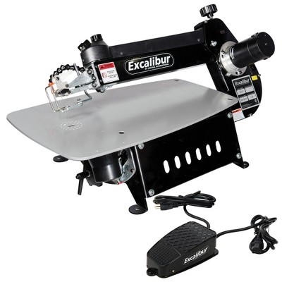 Excalibur EX-21CRB 21 in. Tilting Head Scroll Saw with Foot Switch Manufacturer Refurbished