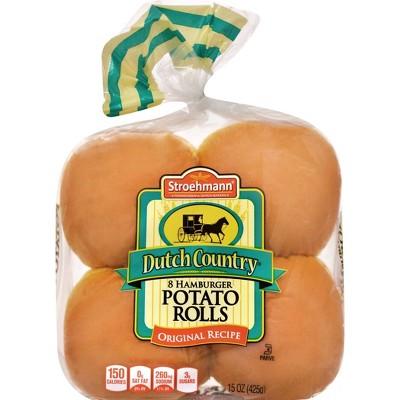 Stroehmann Potato Buns - 15oz/8ct