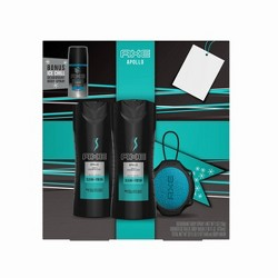 Axe Apollo Bath And Body Gift Set - 4pc