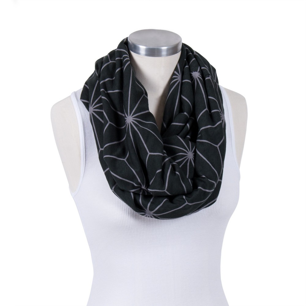 Image of Bebe au Lait Premium Cotton Jersey Knit Nursing Scarf - Black