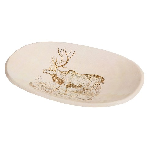 Buck Oval Dish - Go Home - image 1 of 1