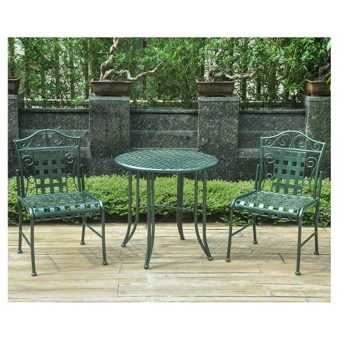 International Caravan 3pc Patio Seating Set - Verdigris - image 1 of 1