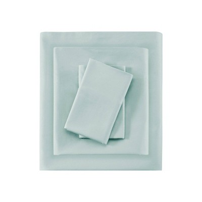 Liquid Cotton Sheet Set (King)Seafoam