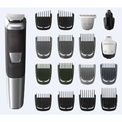Philips Norelco Series 5000 Multigroom 18pc Men's Rechargeable Electric Trimmer - MG5750/49 - image 1 of 4