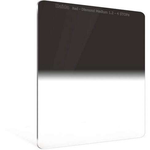 Haida Red Diamond Medium-Edge Graduated ND 150x170mm Filter, 1.2 Density (4-Stops) - image 1 of 1