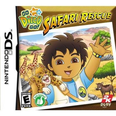 Go Diego Go: Safari Rescue NDS