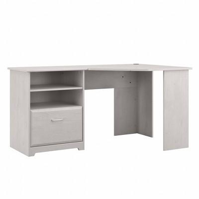 Cabot 60W Corner Desk with Storage - Bush Furniture
