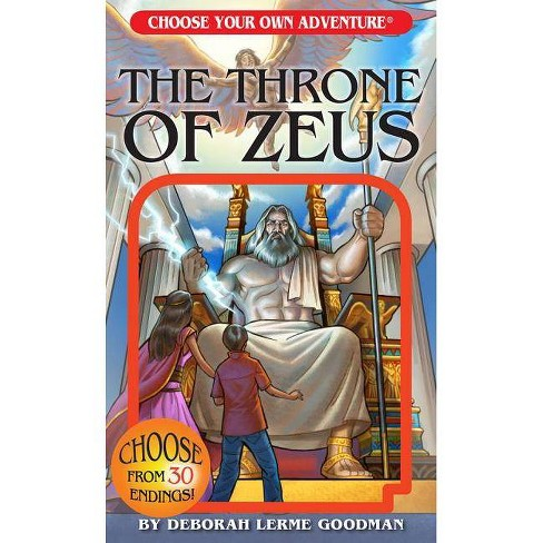 The Throne of Zeus - (Choose Your Own Adventure: Lost Archives) by  Deborah Lerme Goodman (Paperback) - image 1 of 1