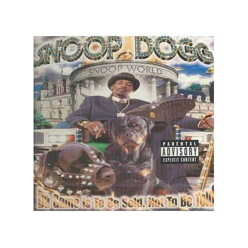 Snoop Dogg - Da Game Is to Be Sold Not to Be Told (CD) - image 1 of 1