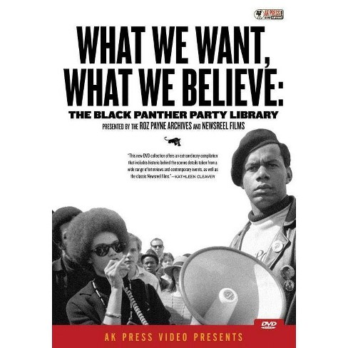 What We Want, What We Believe: Black Panther Party Library (DVD) - image 1 of 1
