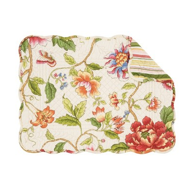 """C&F Home Kailey  13"""" x 19"""" Placemat Set of 6"""