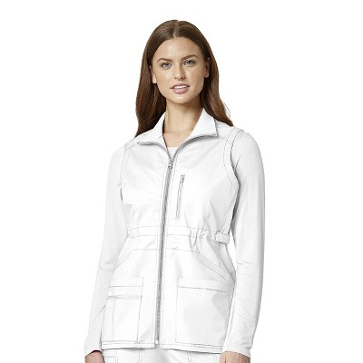 WonderWink Women's Utility Zip Fashion Vest