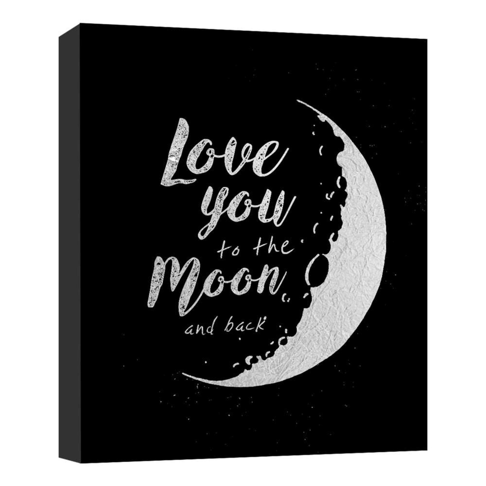 11 34 X 14 34 Love You To The Moon Ii Decorative Wall Art Ptm Images