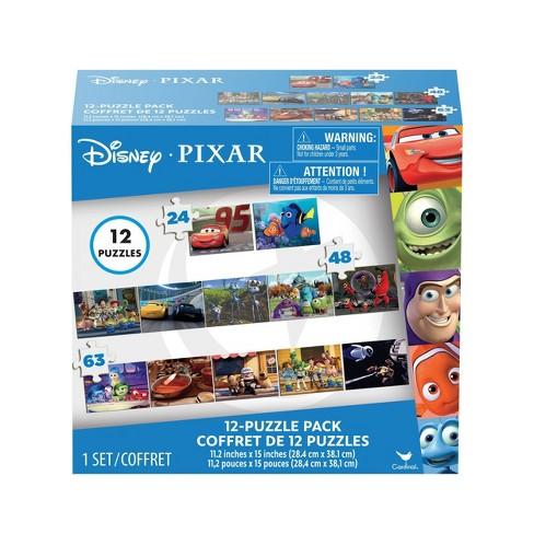 Cardinal Disney Pixar Kids Puzzle Set 12pk Target