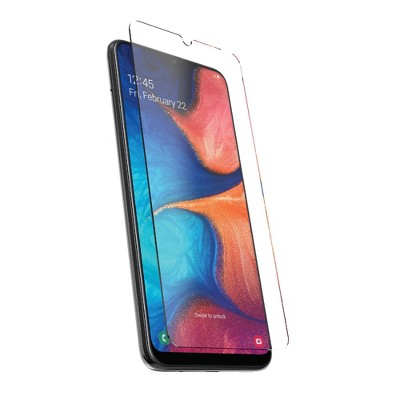 DuraGlass Tempered Glass Screen Protector for Samsung Galaxy A20 - Clear