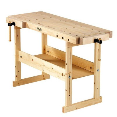 Sjobergs Nordic Plus 1450 Birch Wood Hobby and Garage Compact Tools Workbench