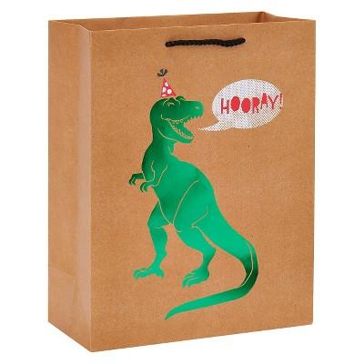 Medium Gift Bag Birthday T-Rex Hooray - Spritz™