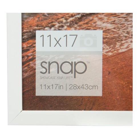 Single Image 11X17 White Wood Frame - Gallery Solutions : Target