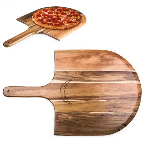 NFL Los Angeles Chargers Picnic Time Acacia Pizza Peel - Brown - image 1 of 2