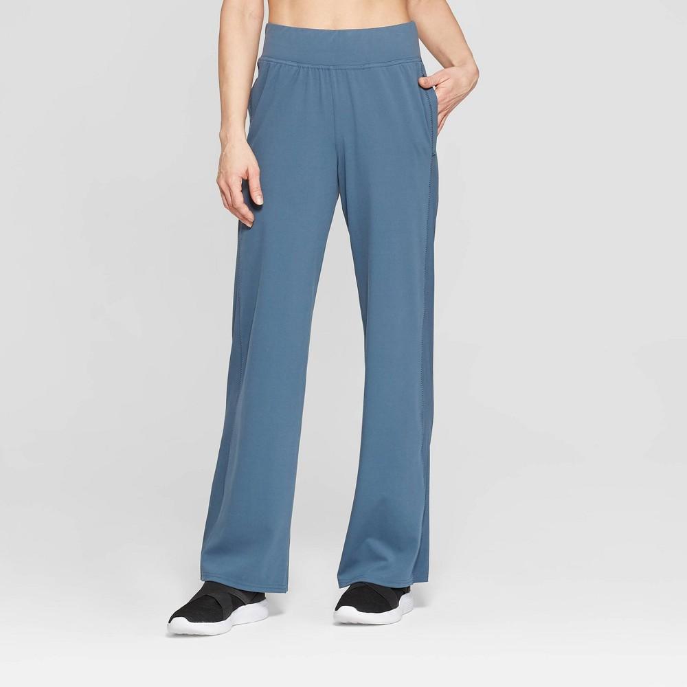 Women's Training Mid-Rise Woven Pants - C9 Champion Blue Grey Xxl - Long, Size: Xxl Long