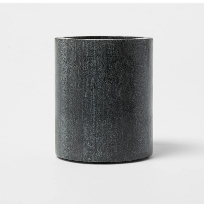 Marble Utensil Holder Gray - Threshold™