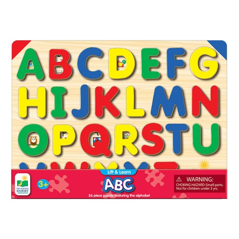The Learning Journey Lift & Learn ABC Puzzle, 26pc - image 1 of 2