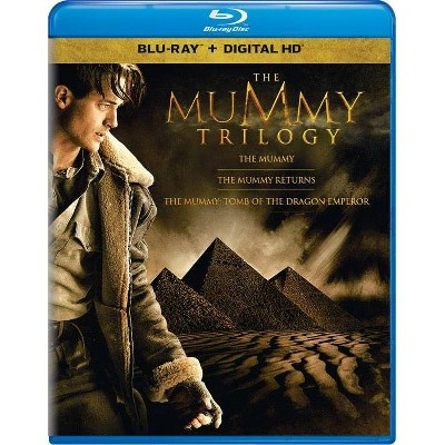 The Mummy Trilogy (Blu-ray + Digital)