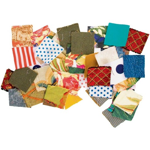 Roylco Square Fabric Mosaic, 1-3/4 X 1-3/4 in, Assorted Color, set of 400 - image 1 of 1