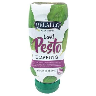 DeLallo Basil Pesto Topping Squeeze - 6.7oz