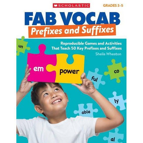 Prefixes & Suffixes - (Fab Vocab) by  Sheila Wheaton (Paperback) - image 1 of 1