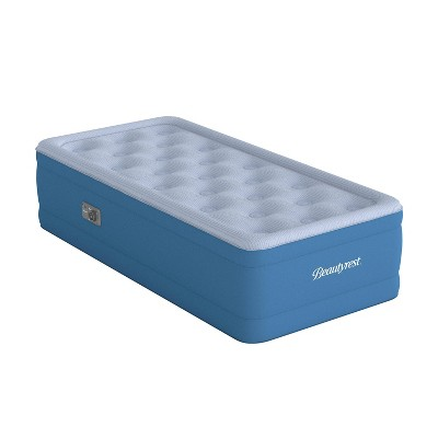 """Beautyrest Comfort Plus 17"""" Anti-Microbial Air Mattress with Pump - Twin"""