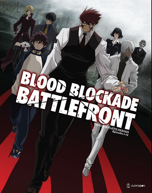 Blood blockade battlefront:Complete s (Blu-ray) - image 1 of 1