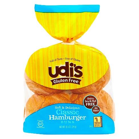 Udi's Gluten Free Frozen Hamburger Buns - 10.4oz - image 1 of 1