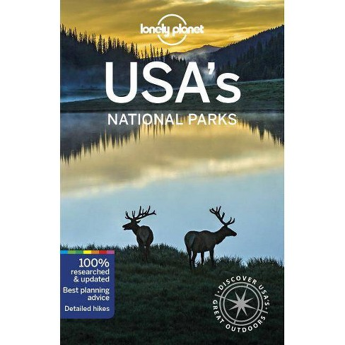 Lonely Planet Usa's National Parks - 2 Edition (Paperback) - image 1 of 1