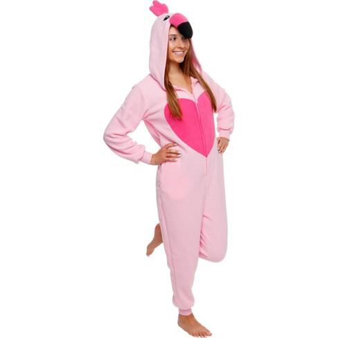Funziez! Flamingo Slim Fit Women's Novelty Union Suit - image 1 of 4