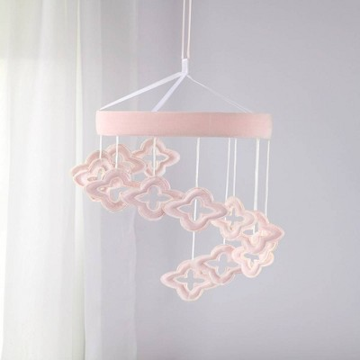 NoJo Chantilly Ceiling Mobile - Pink and White